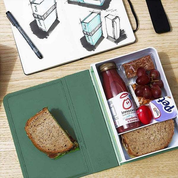 Lunch Box Book - Olive