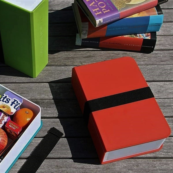 Lunch Box Book - Red