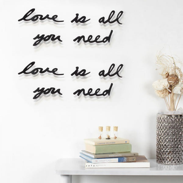 Mantra Love Wall Decor