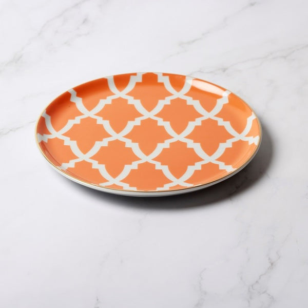 Morocco Quarter Plate - Orange