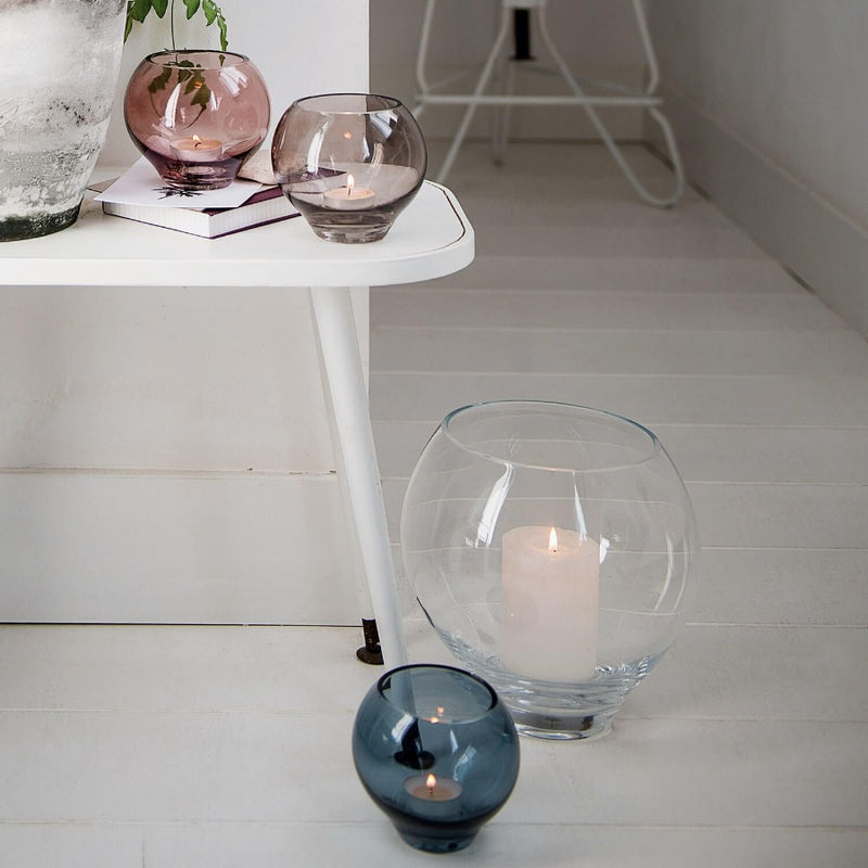 Milano Tealight Holder - Azure