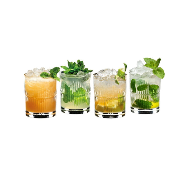 Mixing Rum Glasses, Set of 4