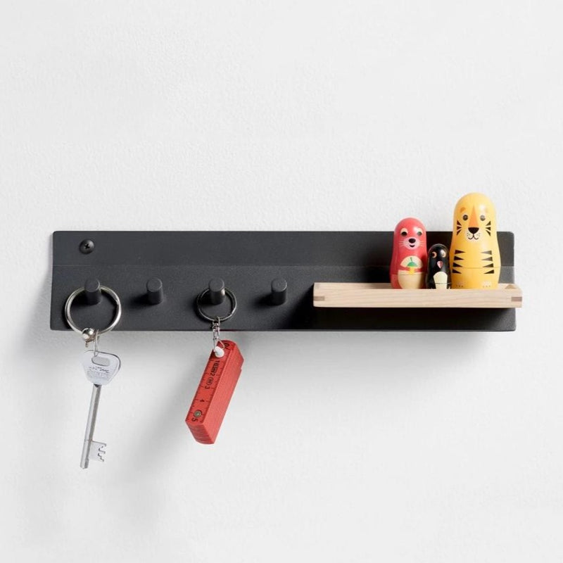 Meso Wall Hooks - Space Black