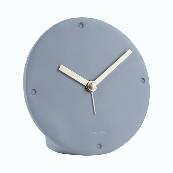 Mantel Alarm Clock - Matte Grey