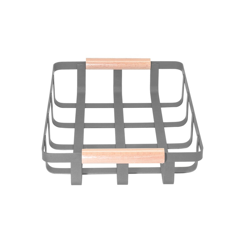 Grid Metal Storage Basket
