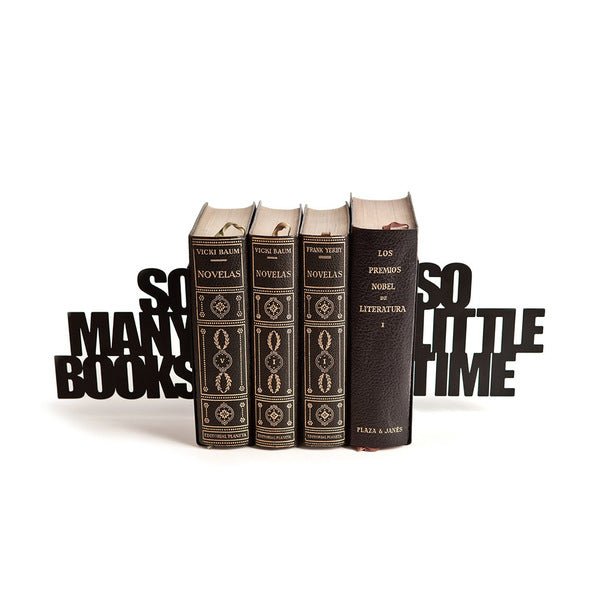 Metallic Bookend - So Many Books