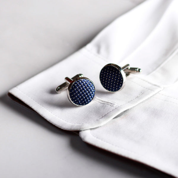 Midnight Blue Fiorenza Cufflinks