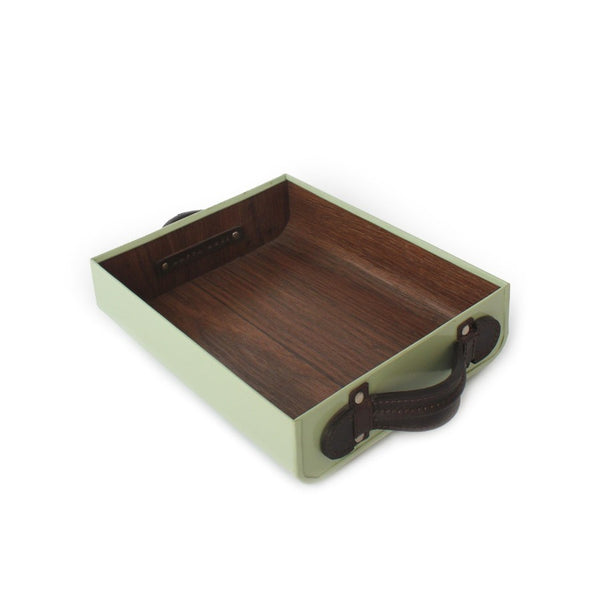 Mini F Tray - Pista Green