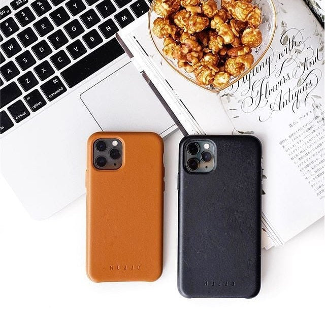 Full Leather Case for iPhone 11 Pro Max - Black