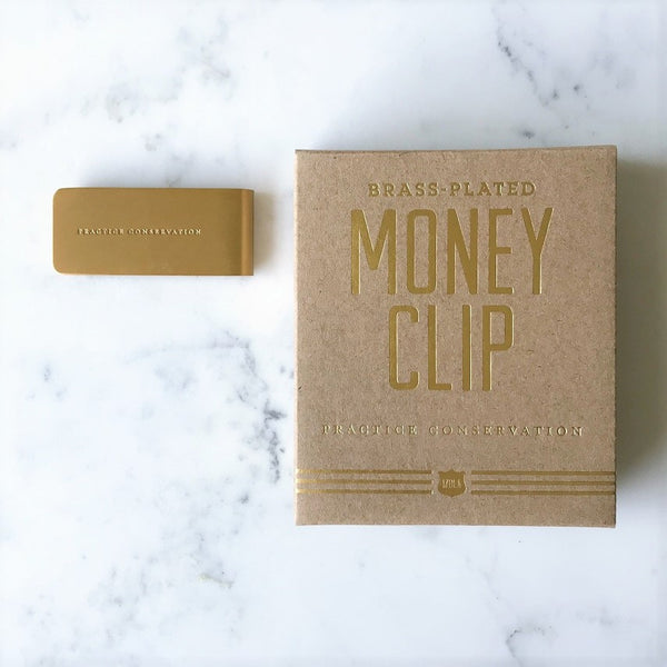 Money Clip - Practice Conservation