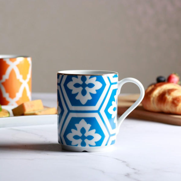 Morocco Coffee Mug - Blue