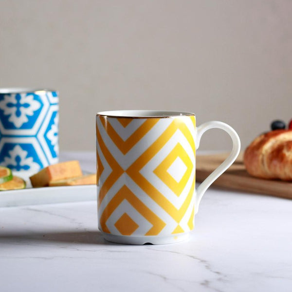 Morocco Coffee Mug - Yellow
