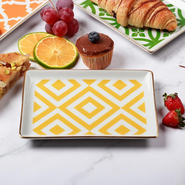 Morocco Small Breakfast Plate - Yellow