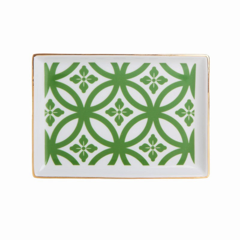 Morocco Small Breakfast Plate - Green