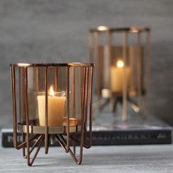 Morpheus Hurricane Candle Holder, Small