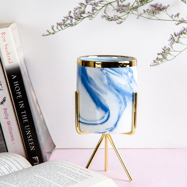 Neher Tabletop Vessel - Blue