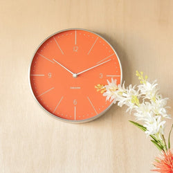 Normann Wall Clock Medium - Orange