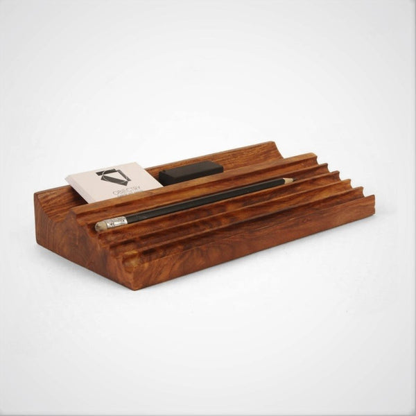 O-ve Wooden Pen Tray