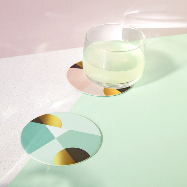 Cocktail Coasters, Set of 12 - Siena