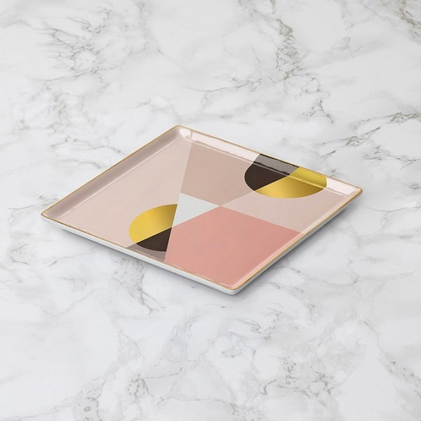 Ceramic Catchall Tray - Siena Pink