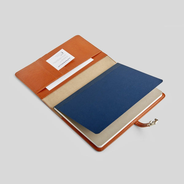 Classic Leather Organiser - Tan