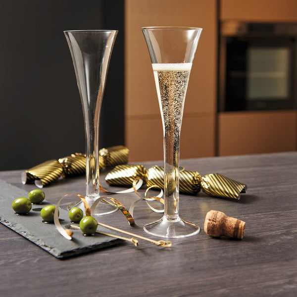 Nizza Champagne Glasses, Set of 2