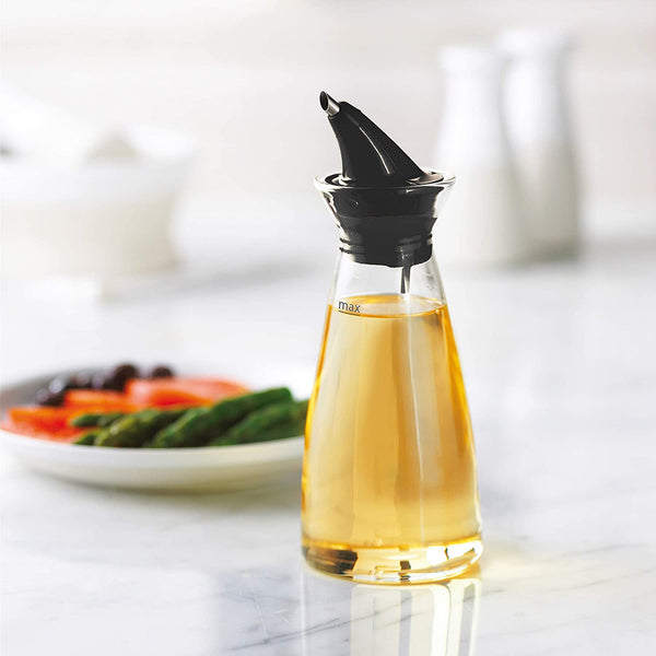 Dripless Oil Bottle - Black