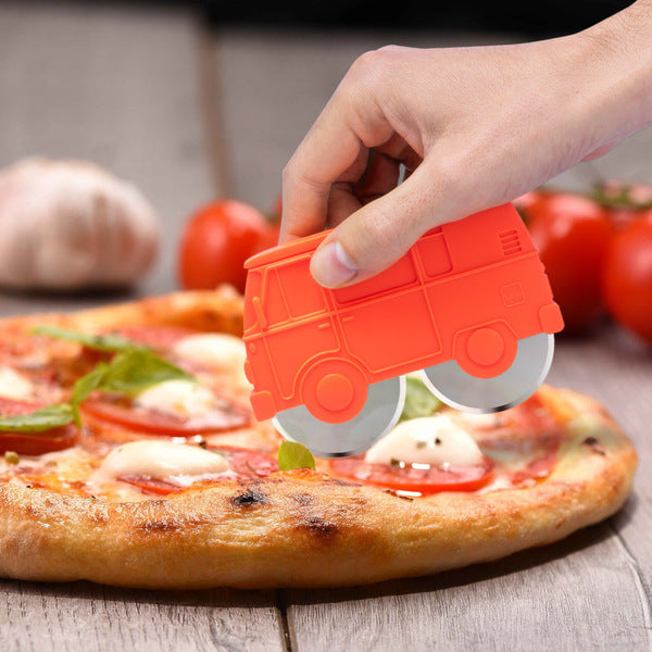 Red Van Pizza Cutter