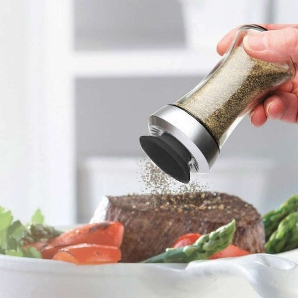 Pop Salt or Pepper Shaker - Black