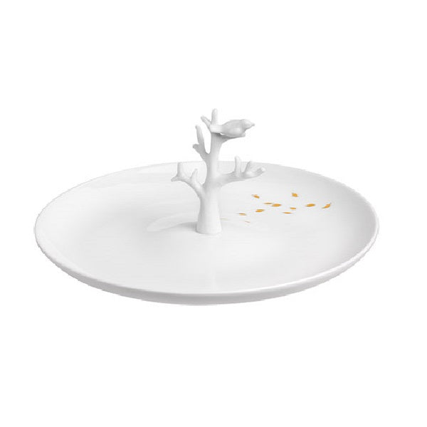 Porcelain Stories Medium Plate - Tree