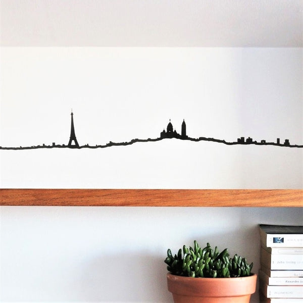 Metal Skyline Wall Decor - Paris