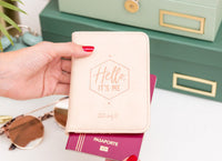 Passport Holder - Hello Its Me