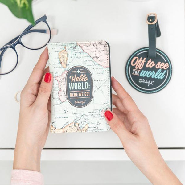 Passport Holder & Luggage Tag - Set to Travel