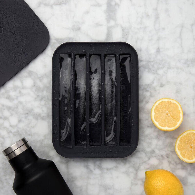 Peak Water Bottle Ice Tray - Charcoal
