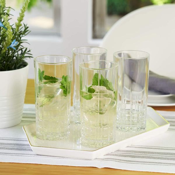 Perfect Serve Long Drink Glasses, Set of 6