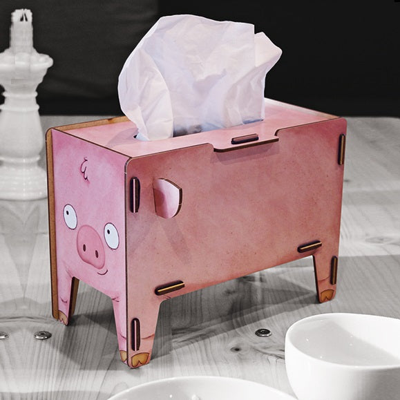 Tissue Box - Piggy