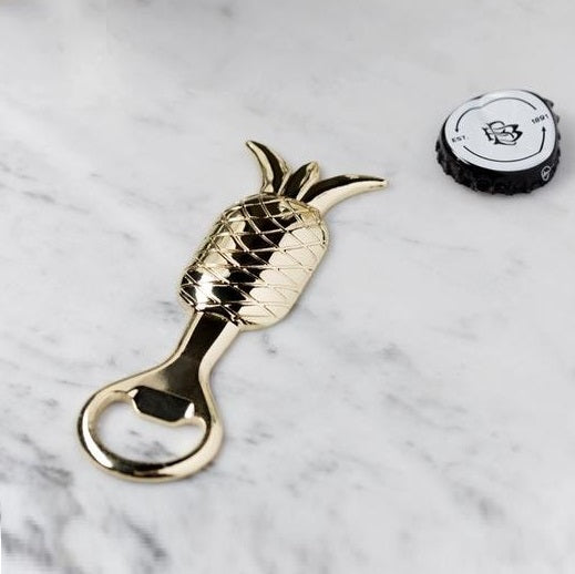 Pineapple Bottle Opener - Brass