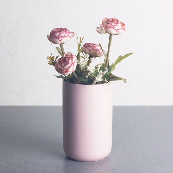 Essential Porcelain Vase - Soft Pink
