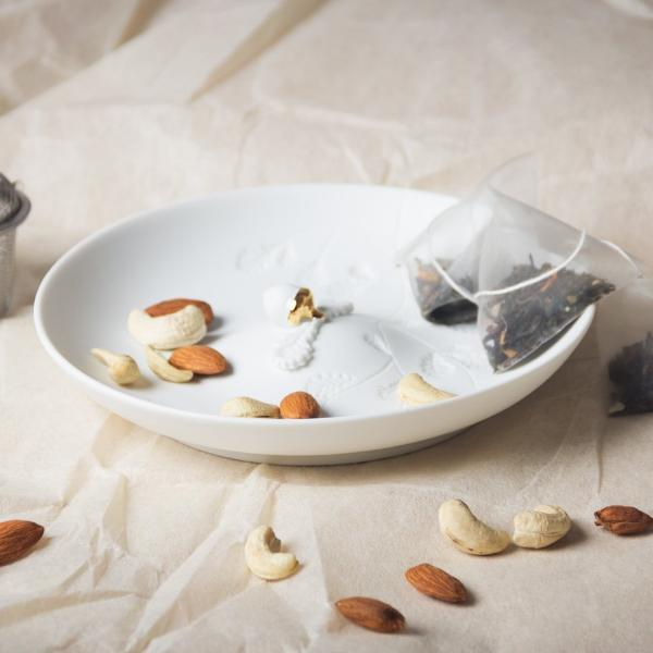 Porcelain Nuts Bowl