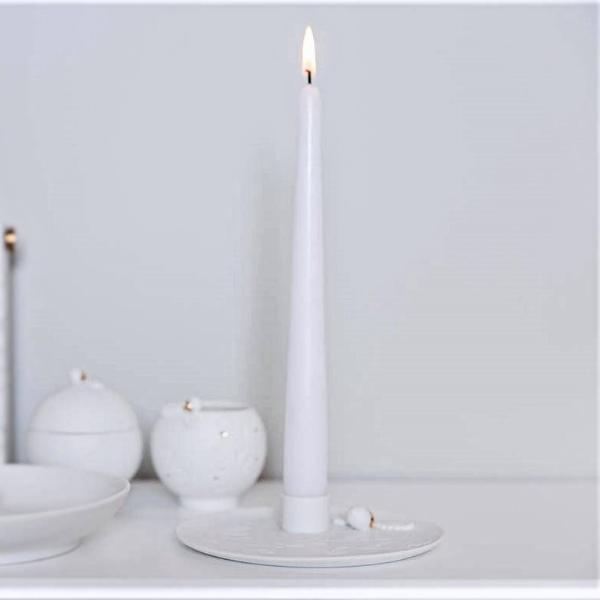 Candle Holder - Porcelain Nuts