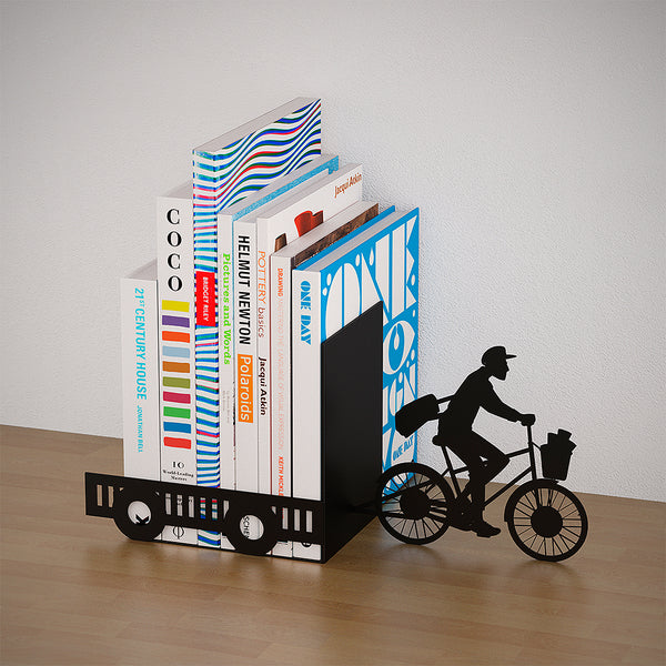 Metallic Bookend - The Postman