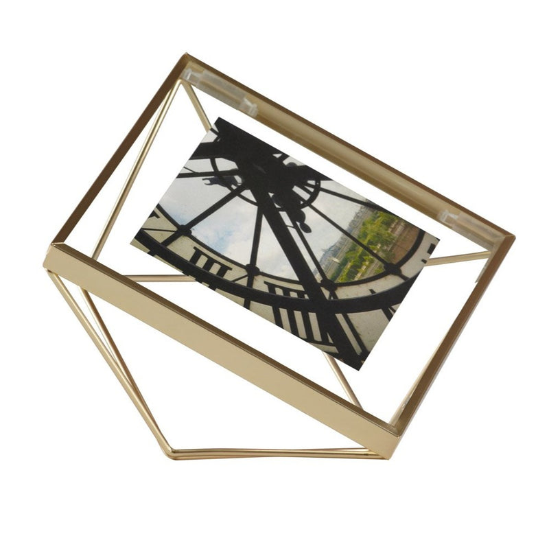 Prisma Photo Frame - Brass 4x4