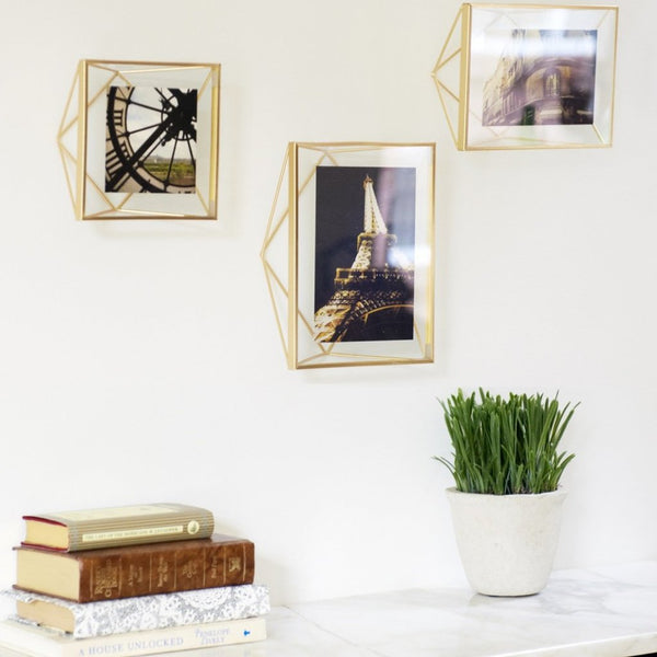Brass Prisma Photo Frame - 5x7