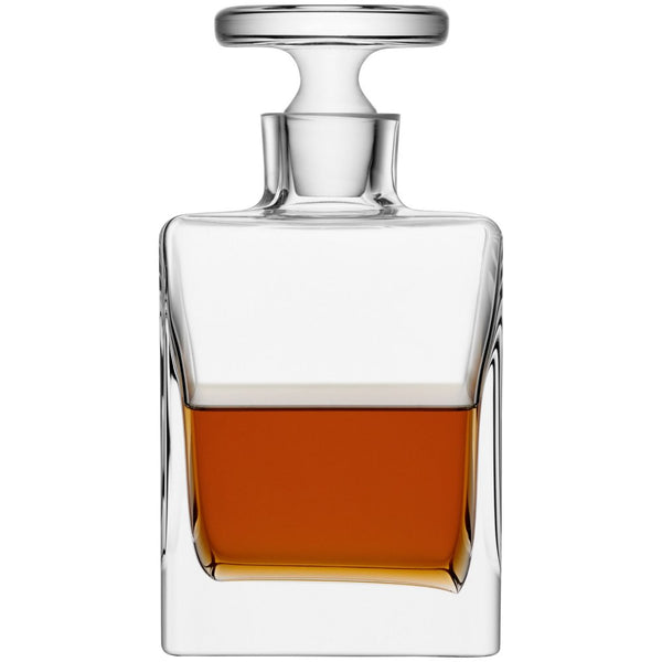 Quad Whiskey Decanter