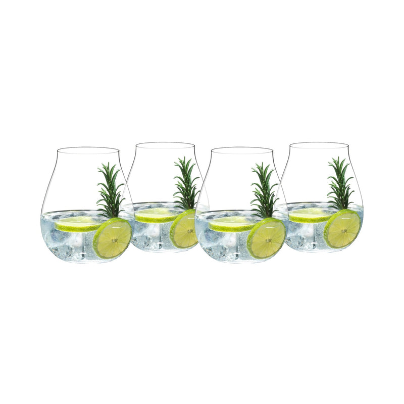 Stemless Gin Glasses, Set of 4