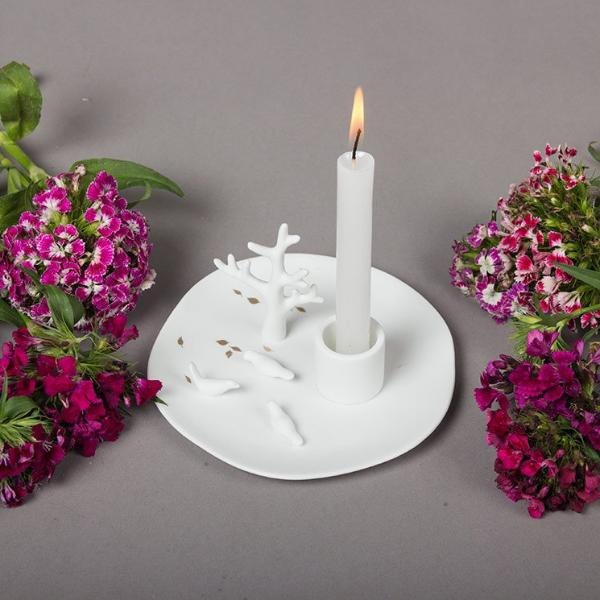 Birds Candle Holder - Modern Quests
