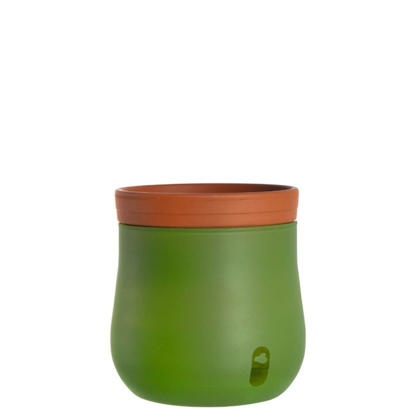 Serra Plant Pot Large - Green