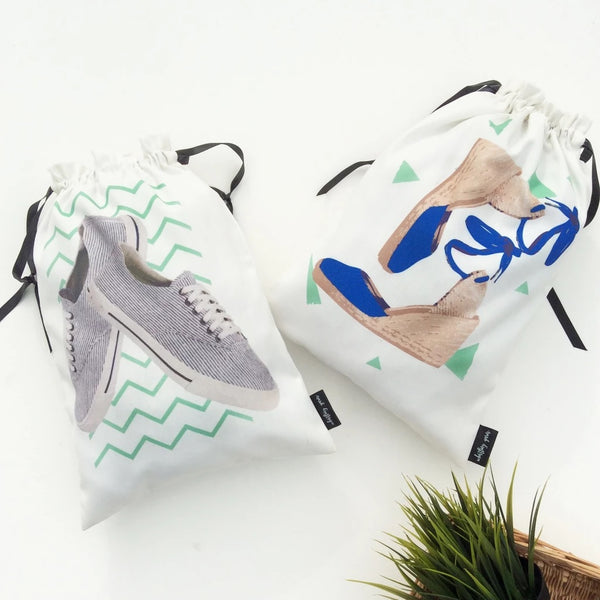Wedges & Sneakers Bags, Set of 2