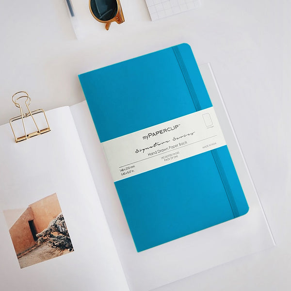 Softcover Notebook, Signature Series - Kingfisher Blue