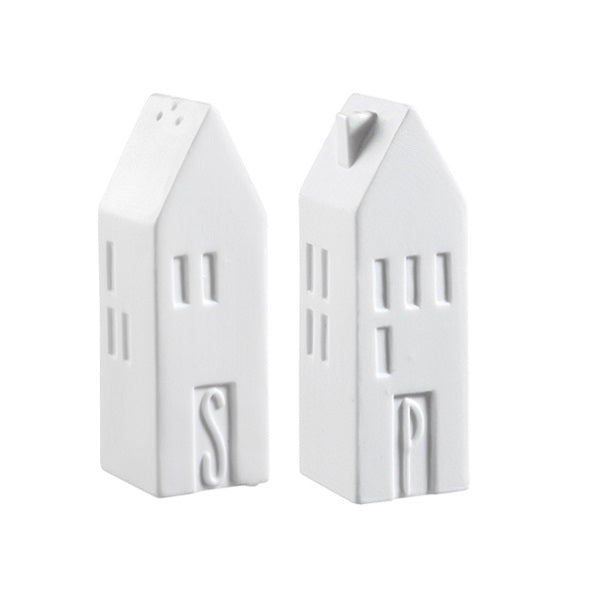 S&P House Salt and Pepper Shaker Set